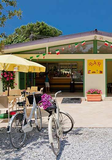 Il Bar del Camping Partaccia 2 a Marina di Massa