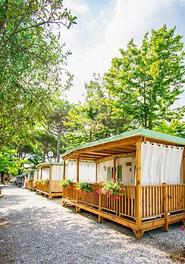Case Mobili Camping Partaccia 2 a Marina di Massa