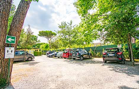 Private Parking, Camping Partaccia 2 La Partaccia