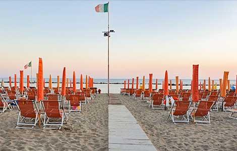 Spiaggia Convenzionata, Camping Partaccia 2 La Partaccia